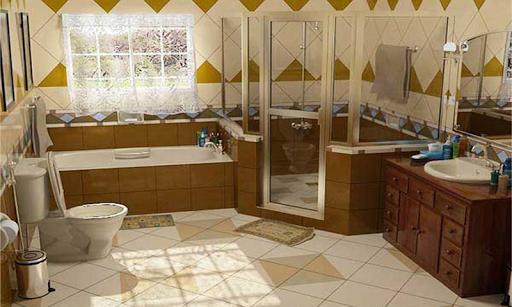 超級浴室設計