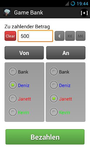 eBank 4 Board Games