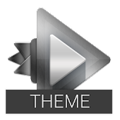 Chrome Theme Rocket Player APK for Nokia
