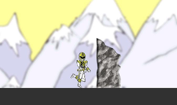 White Ranger Game - screenshot