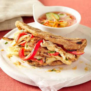 Grilled Thai Chicken Sandwich.