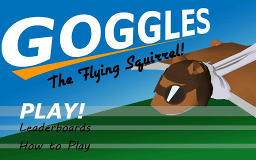 Goggles the Flying Squirrel