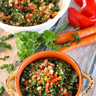 Lemony Kale Quinoa Salad.