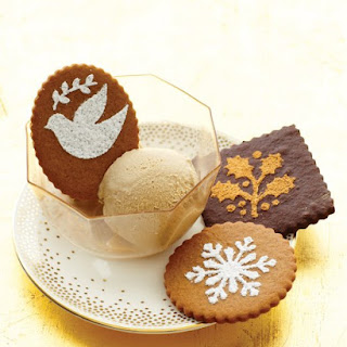 Stenciled Gingerbread Cookies