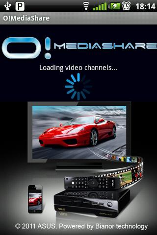 O!MediaShare - screenshot