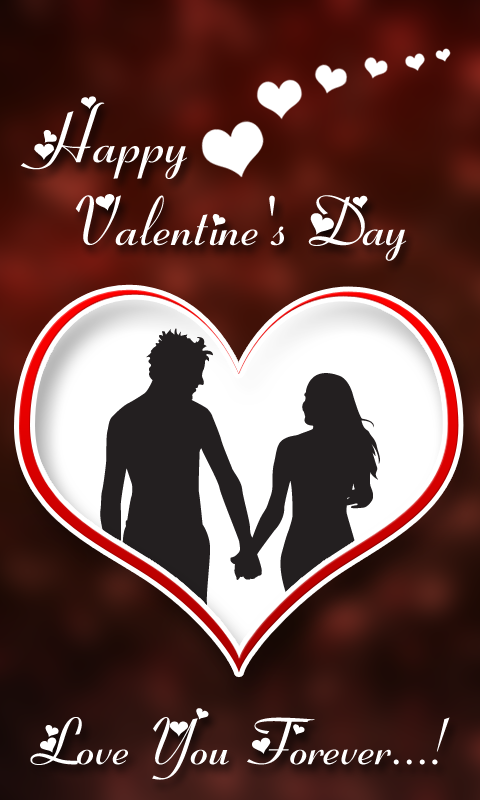 valentines day photo frames screenshot