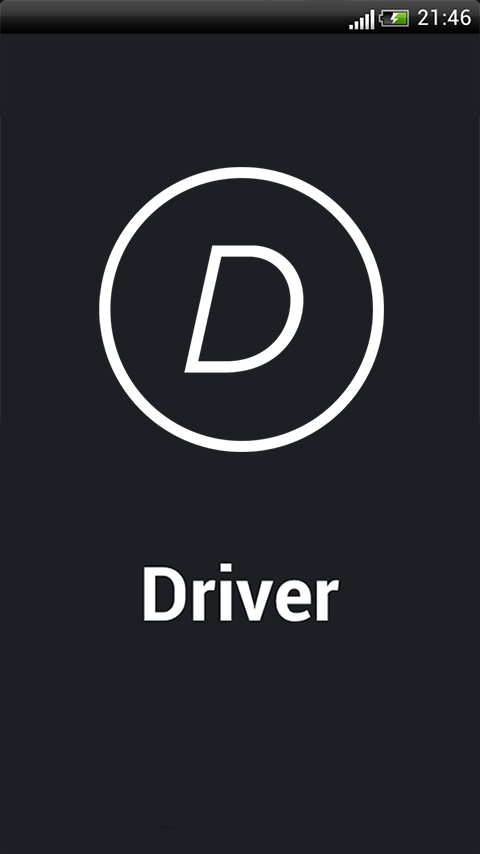 DriverApp- screenshot