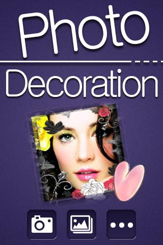 Photo Decoration - screenshot