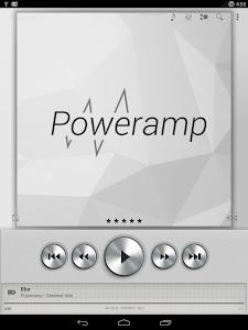 Poweramp skin Light Metallic v1.4