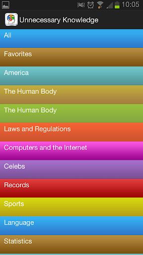 Unnecessary knowledge|玩娛樂App免費|玩APPs