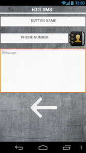 One click SMS - GSM remote - screenshot thumbnail