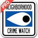 Neighborhood Crime Watch Pro icon