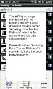 Amazing Price Tracker (Dead!!) - screenshot thumbnail