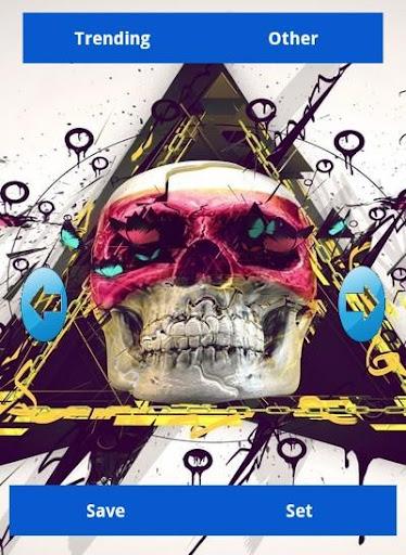 免費下載個人化APP|Skull Wallpapers app開箱文|APP開箱王