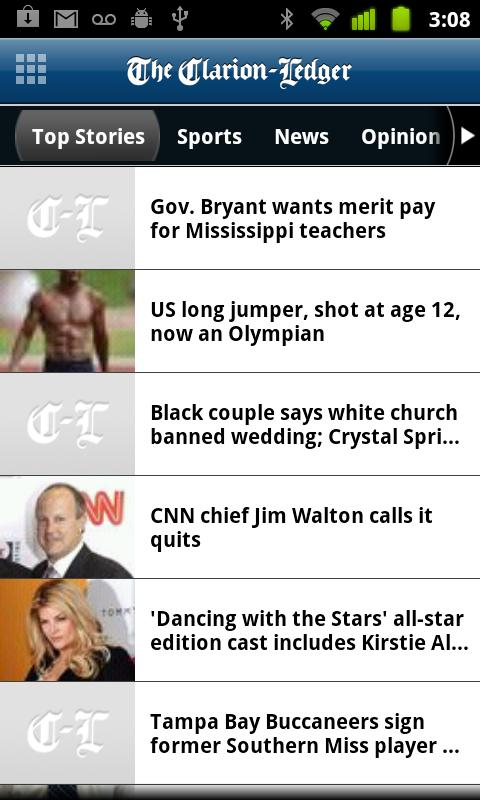 The Clarion-Ledger - screenshot