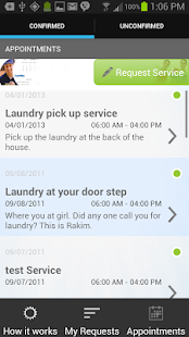 Laundry Pickup, House Cleaning- screenshot thumbnail