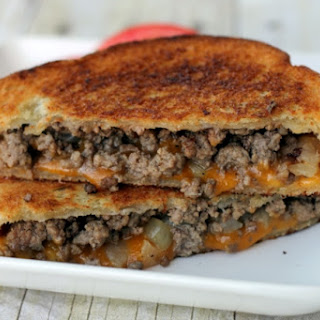 Patty Melt Grilled Cheese
