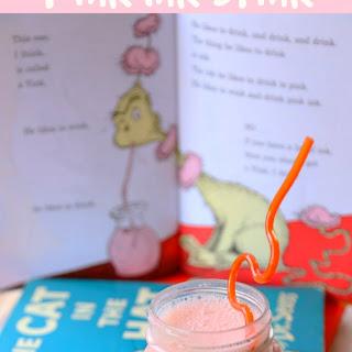 Healthy Pink Ink Drink