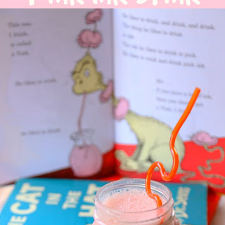 Healthy Pink Ink Drink.