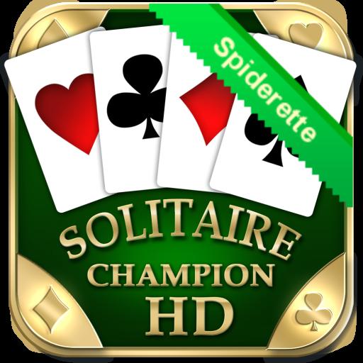 Spiderette Champion HD 紙牌 App Store-愛順發玩APP