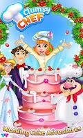 Screenshot of Clumsy Chef Wedding Cake