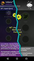 Screenshot of Vellamo Mobile Benchmark