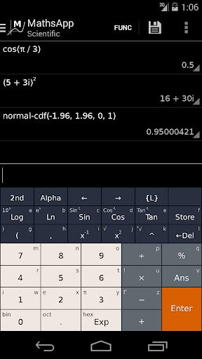 MathsApp科學計算器