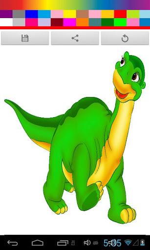 【免費休閒App】Dinosaur Coloring For Kids-APP點子