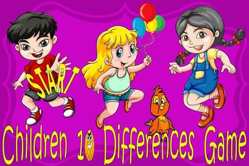 10儿童游戏的区别