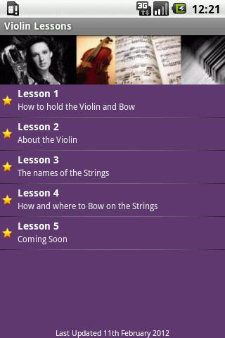 Violin Lesson Tutor - screenshot