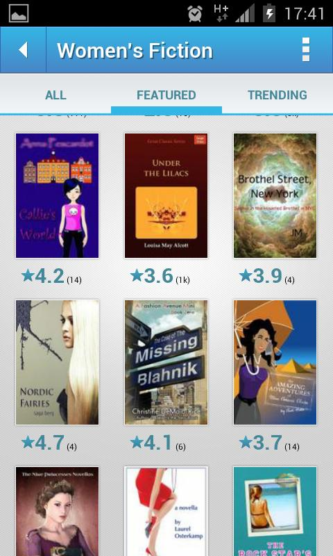 50000 Free Ebooks & Reader - screenshot