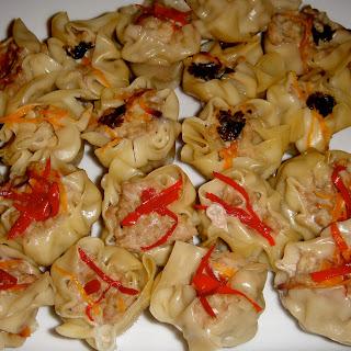 Shrimp and Pork Dumplings