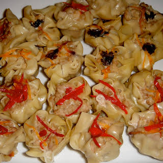 Shrimp and Pork Dumplings.