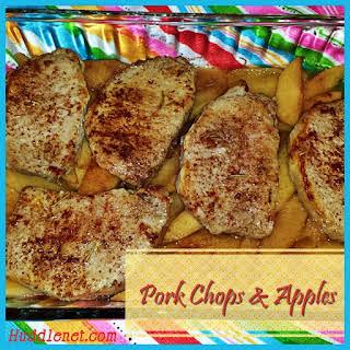 Pork Chops & Apples.
