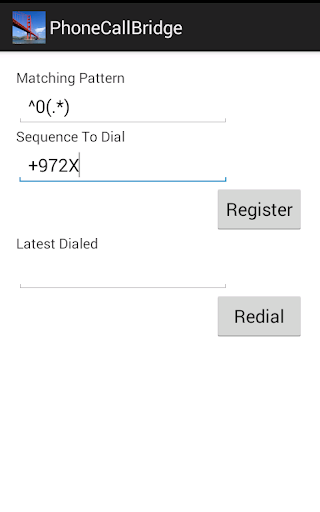 Phone Call Bridge PCB