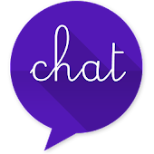 EvolveSMS Theme-BH Chat Purple