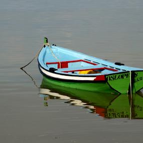 Alone... by Carlos Palhau - Transportation Boats