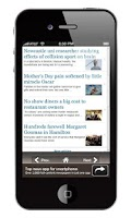 Screenshot of Australia Newspapers