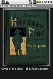 Adv of Huckleberry Finn + Pics