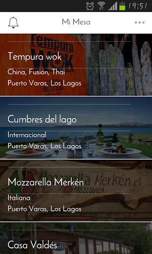 Mi Mesa App