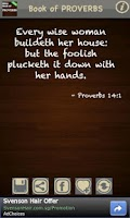 Screenshot of Book of Proverbs (KJV) FREE!