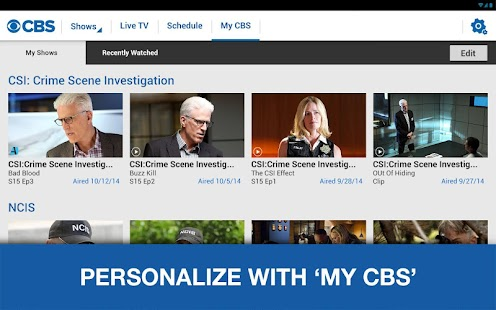 CBS- screenshot thumbnail