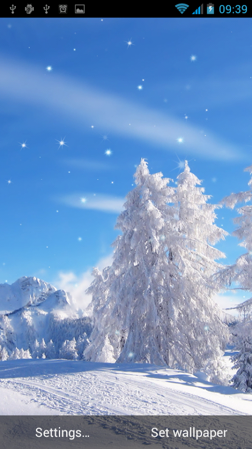 Winter Live Wallpaper - Android Apps on Google Play