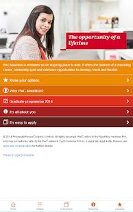 PwC Mauritius Recruitment - screenshot thumbnail
