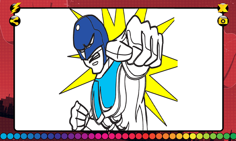 Superhero Coloring Book - Android Apps on Google Play