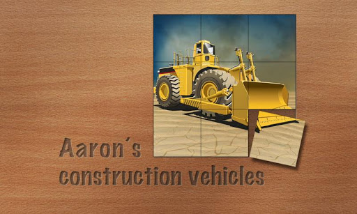 Aaron's construction vehicles