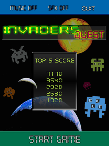 Invaders Quest