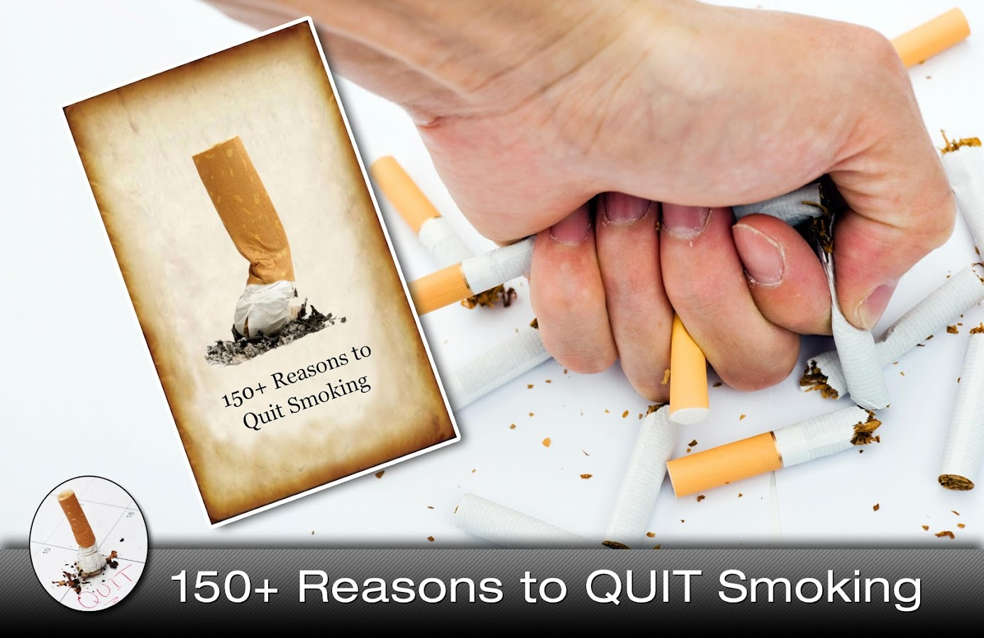 Quit Smoking Habit 150 Reasons - screenshot