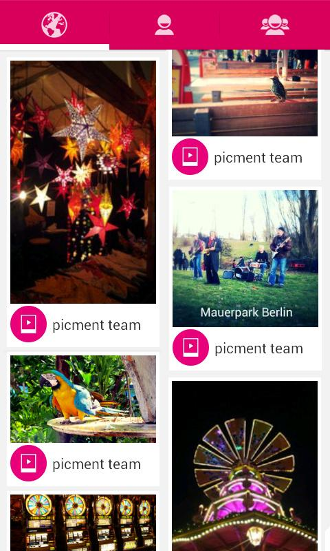 Picment: Photo, Voice & Sounds- screenshot