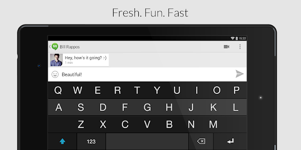Fleksy Keyboard - Happy Typing - screenshot thumbnail